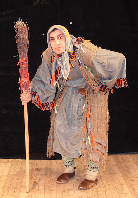 Платье бабы яги фото